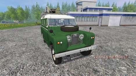 Land Rover Series IIa Station Wagon v1.2 для Farming Simulator 2015
