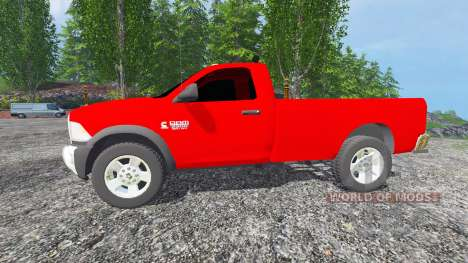 Dodge Ram 2500 2010 для Farming Simulator 2015