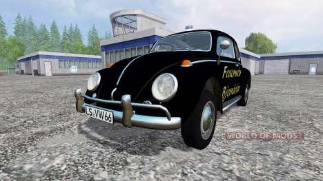 Volkswagen Beetle 1966 [feuerwehr] для Farming Simulator 2015
