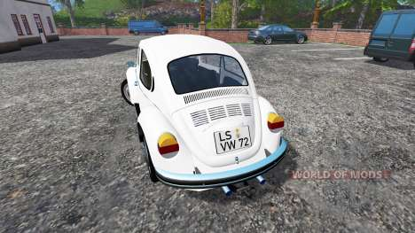 Volkswagen Beetle 1973 v2.0 для Farming Simulator 2015