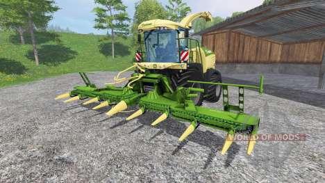 Krone Big X 580 [no gloss] для Farming Simulator 2015