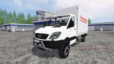 Mercedes-Benz Sprinter v1.1 для Farming Simulator 2015