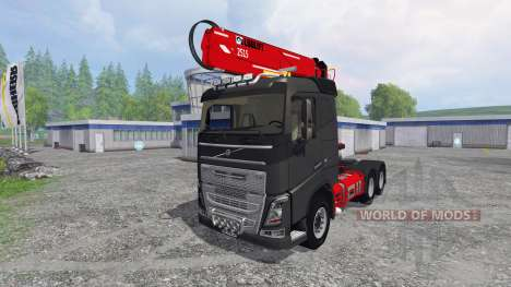 Volvo FH16 750 [grumier] для Farming Simulator 2015