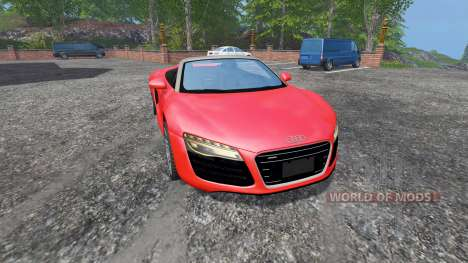 Audi R8 Spyder v1.1 для Farming Simulator 2015