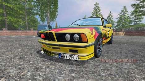 BMW M635CSi (E24) v2.0 для Farming Simulator 2015