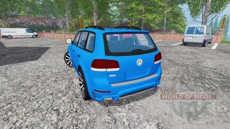 Volkswagen Touareg I для Farming Simulator 2015