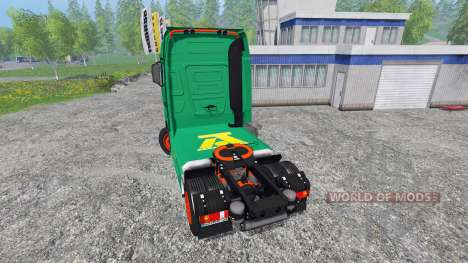 Mercedes-Benz Actros MP4 v2.0 [AguasTenias] для Farming Simulator 2015