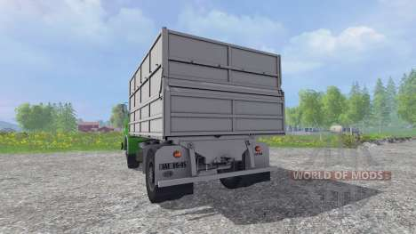 Skoda Liaz Tipper v1.1 для Farming Simulator 2015