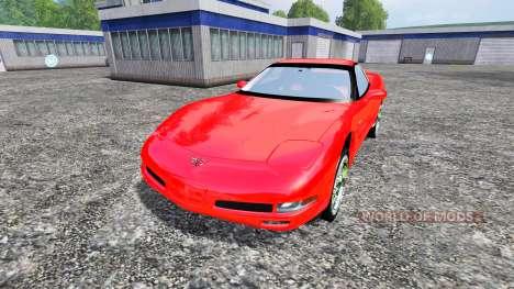 Chevrolet Corvette C5 для Farming Simulator 2015