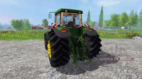 John Deere 8520 v2.5 для Farming Simulator 2015