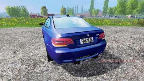 BMW M3 (E92) v3.0 для Farming Simulator 2015