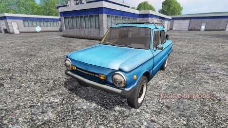 ЗАЗ-968М для Farming Simulator 2015