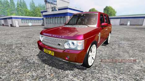 Range Rover Supercharged 2009 для Farming Simulator 2015