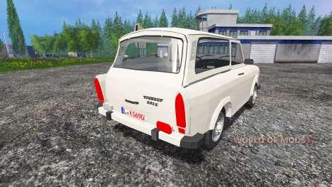 Trabant 601 S v0.6 для Farming Simulator 2015
