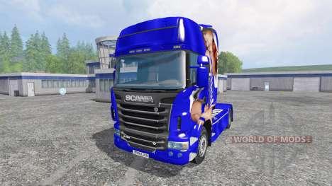 Scania R560 [Lux] для Farming Simulator 2015