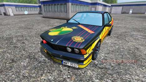 BMW M635CSi (E24) [Mammoet Auto Sport] для Farming Simulator 2015