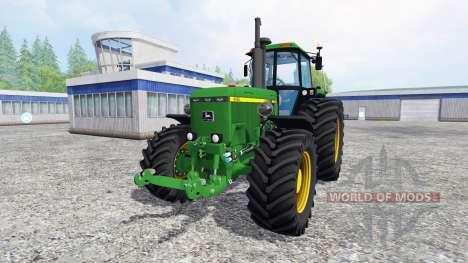 John Deere 4455 4WD для Farming Simulator 2015