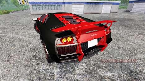 Lamborghini Murcielago LP 670-4 SuperVeloce для Farming Simulator 2015