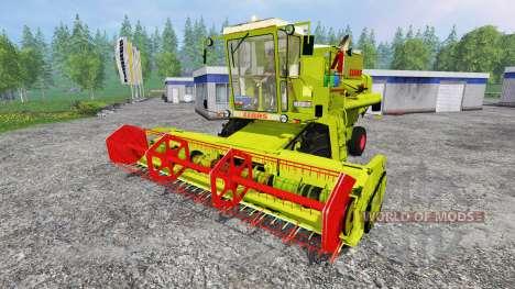 CLAAS Dominator 105 для Farming Simulator 2015