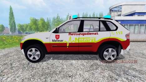 BMW X5 NEF для Farming Simulator 2015