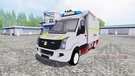 Volkswagen Crafter EMS для Farming Simulator 2015