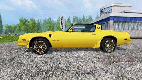 Pontiac Firebird Trans Am 1977 v1.2 для Farming Simulator 2015