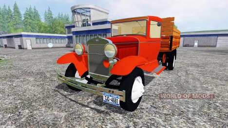Ford Model AA v2.0 для Farming Simulator 2015