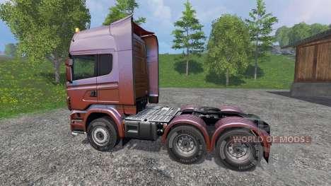 Scania R730 [Topline] v5.0 для Farming Simulator 2015
