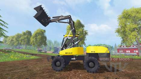 Mecalac 12MTX для Farming Simulator 2015