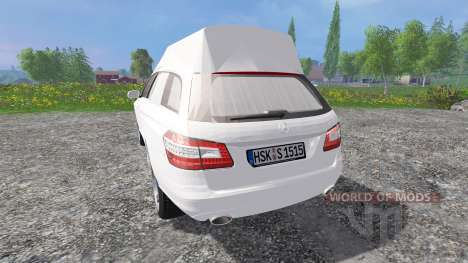 Mercedes-Benz E350 CDI Estate [hearse] для Farming Simulator 2015