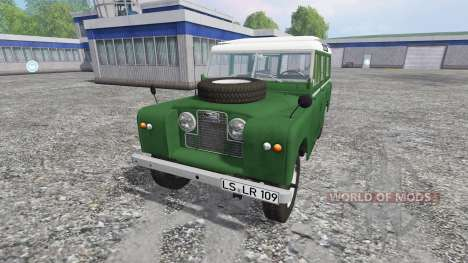 Land Rover Series IIa Station Wagon для Farming Simulator 2015