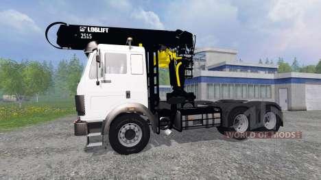 Mercedes-Benz SK [forest] для Farming Simulator 2015