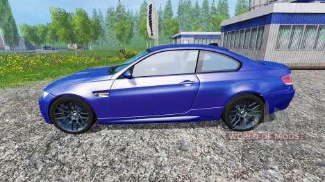BMW M3 (E92) v2.0 для Farming Simulator 2015