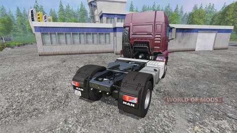 MAN TGS 18.440 [tuning] для Farming Simulator 2015
