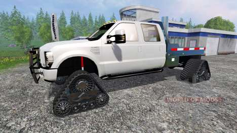 Ford F-350 [tracked] для Farming Simulator 2015