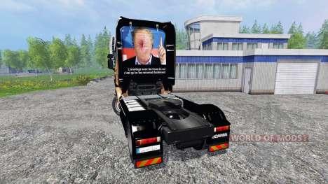 Scania R560 [Hugo La Merde] для Farming Simulator 2015