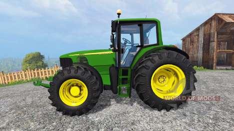 John Deere 7520 для Farming Simulator 2015