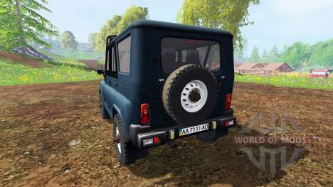 УАЗ-315195 Хантер v3.0 для Farming Simulator 2015