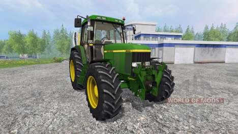 John Deere 6810 v1.0 для Farming Simulator 2015