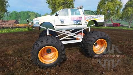 PickUp Monster Truck Jam v1.1 для Farming Simulator 2015
