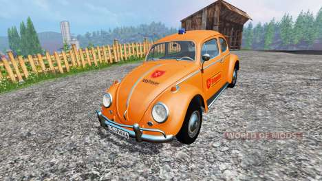 Volkswagen Beetle 1966 [Maltese] v2.0 для Farming Simulator 2015