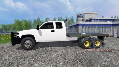 Chevrolet Silverado [FlatTrack] для Farming Simulator 2015