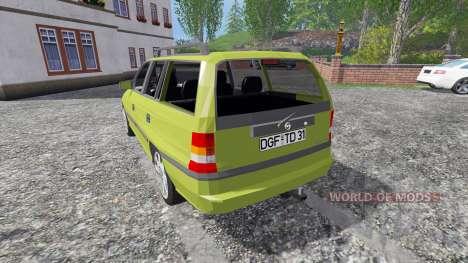 Opel Astra F Caravan [cool motion] для Farming Simulator 2015