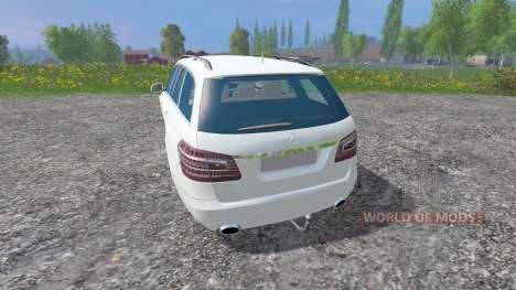 Mercedes-Benz E350 [beta] для Farming Simulator 2015