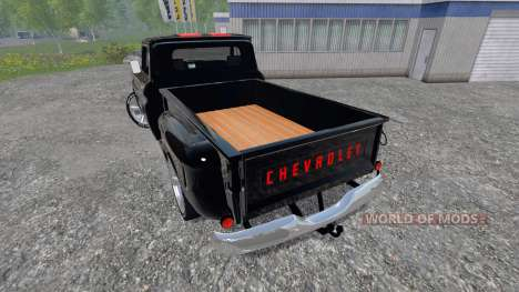 Chevrolet C10 Fleetside 1966 [tuning] для Farming Simulator 2015