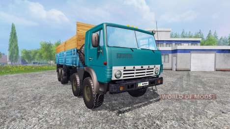 КамАЗ-6530 v2.5 для Farming Simulator 2015