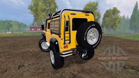 Land Rover Defender 90 [offroad] v2.0 для Farming Simulator 2015