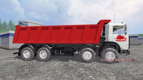 МАЗ-65152 МЗКТ для Farming Simulator 2015