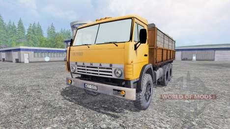 КамАЗ-55102 v1.1 для Farming Simulator 2015