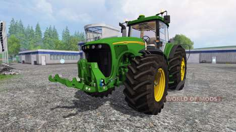 John Deere 8220 v2.5 для Farming Simulator 2015